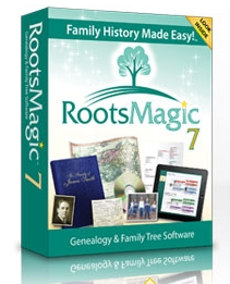 RootsMagic7 FamiyTree Software