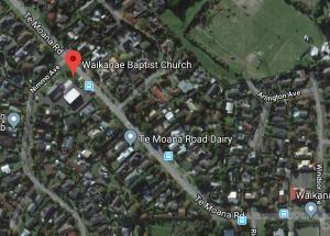Waikanae Baptist Church, 286 Te Moana Rd