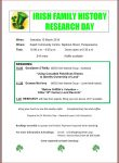 Irish Research Day 10 March 2018