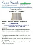 June meetings