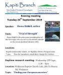 September meetings