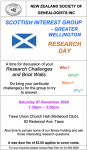 Scottish Interest Group - Research day 7 Nov 2020