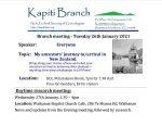 January 2021 meetings